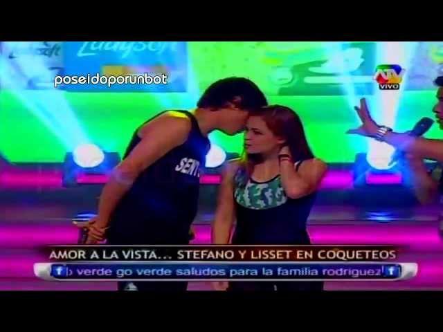 COMBATE: Stefano Declaro su Amor a Lisset y se Besan 28/05/13