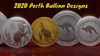 Perth Mint 2020 Designs Revealed   Lunar, Kangaroo, Koala, Kookaburra