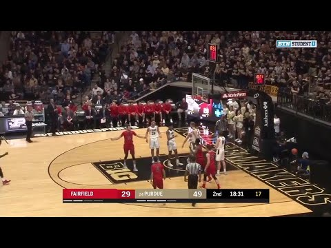 Highlights: Fairfield at Purdue Boilermakers | Big Ten Basketball