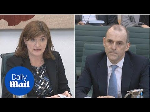 Nicky Morgan: TSB CEO Paul Pester 'extraordinary complacent' - Daily Mail