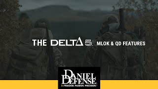"The DELTA 5â""¢ MLOK and QD Features"