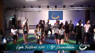 GYM FESTIVAL 2019 - 5º PERÍODO EDUCAÇÃO FÍSICA LICENCIATURA