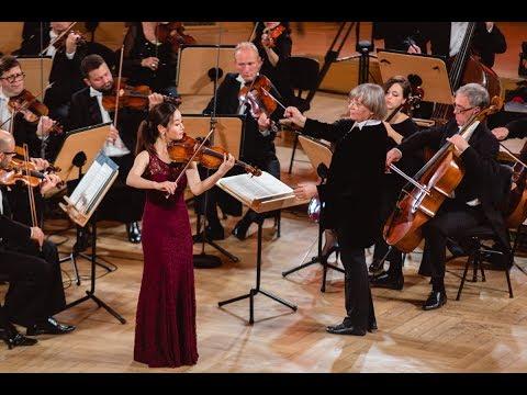 Bomsori Kim plays Mozart and Bach - Stage 3 - International H. Wieniawski Violin Competition STEREO