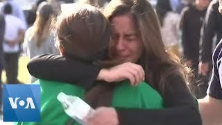 Students Reunited With Parents After California High School Shooting