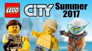 LEGO City 2017 Summer sets list!