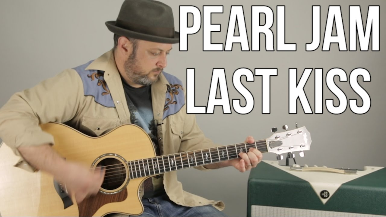 Pearl Jam Last Kiss Beginner Acoustic Guitar Lesson How To Play