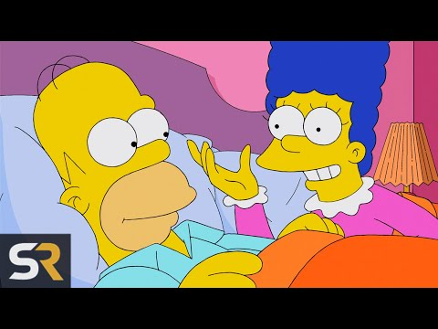 "10 Times Homer And Marge Actually ""Did It"" On The Simpsons"