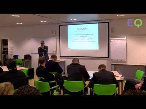 EcoQUIP | Introduction to VMARC Bed Washing Facility at Erasmus MC