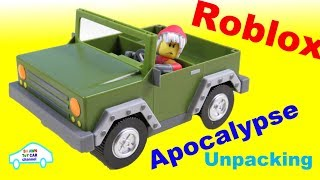 Unpacking Roblox Apocalypse Rising 4x4 Jeep Toy Car