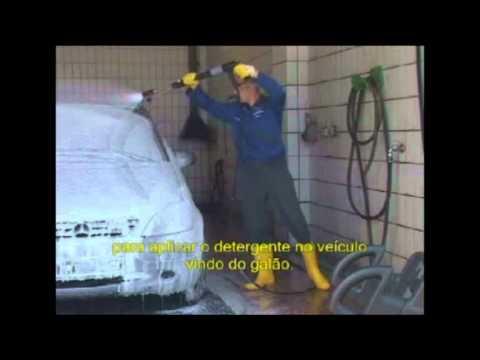 Karcher - Lavadoras de Alta Pressão - Lavar Veículos Método Espuma