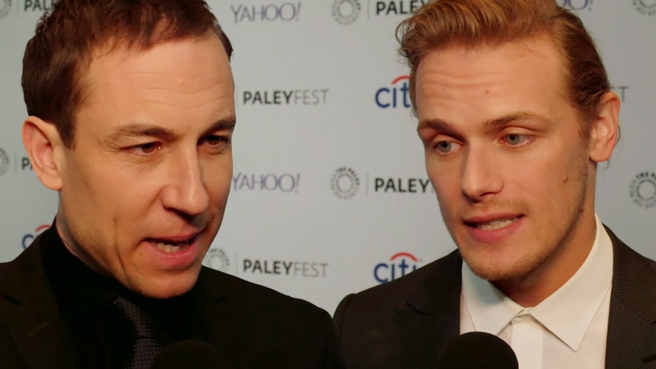 Outlander Cast Interviews: Paleyfest 2015 - YouTube