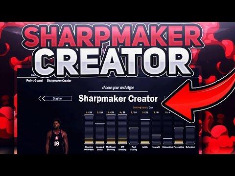 SOMEONE HAS OP ARCHETYPE SHARPMAKER CREATOR | IVE NEVER SEEN THIS BEFORE IN MYPARK NBA 2K17 😱😱😱😱