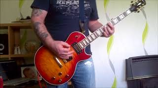 Volbeat - The Gates of Babylon guitar cover