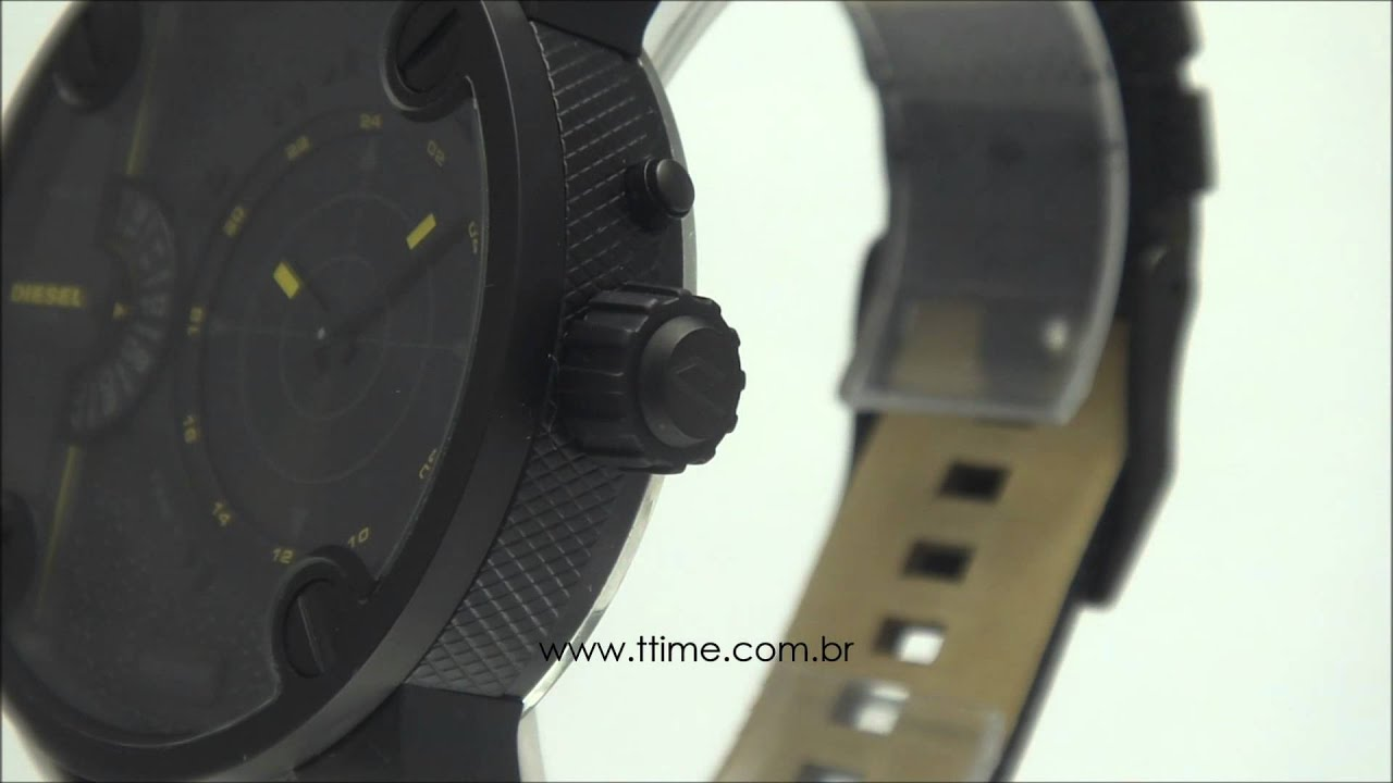 e3cdcc4fddf Relógio Diesel DZ7292 0PN. - YouTube