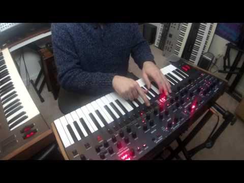 DSI / Tom Oberheim - OB6 - live looping demonstration