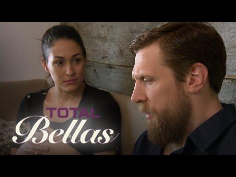 Daniel Bryan Breaks Down in Tears to Brie Bella   Total Bellas   E!