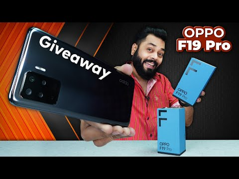 OPPO F19 Pro Unboxing And First Impressions | Giveaway ⚡ 48MP Camera, MediaTek Helio P95 & More