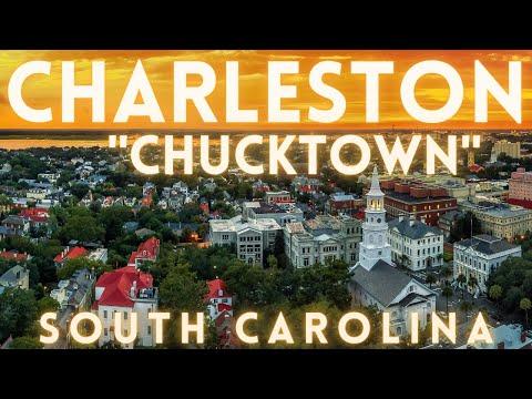Charleston South Carolina Virtual Tour 4K