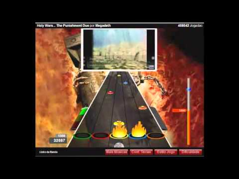 Guitar Flash Orkut - Holy Wars... The Punishment Due - Megadeth 100% FC Hard by Leon