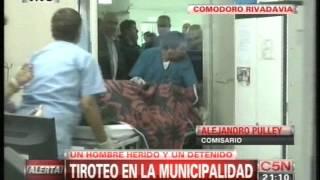 C5N - NOCHES ARGENTINAS: TIROTEO EN LA MUNICIPALIDAD DE COMODORO RIVADAVIA
