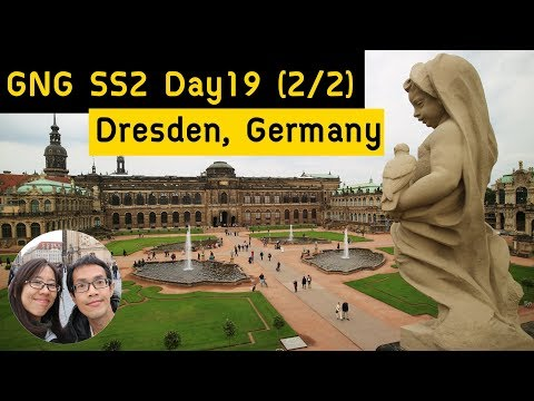 GNG SS2 Day19 (2/2) | จุดชมวิวลับ | Zwinger Palace | Dresden | Germany