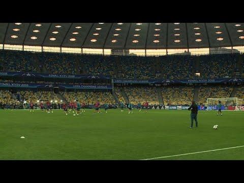 ريال مدريد يستعد لمواجهة ليفربول في  نهائي دوري أبطال اوروبا