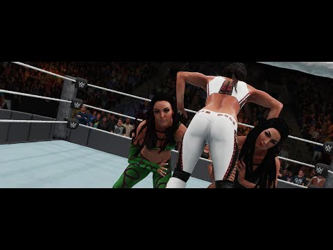 WWE 2K18 - The Iconic Duo vs The Bella Twins!