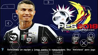 PES 2019 PPSSPP CAMERA PS4 DOWNLOAD ANDROID 2019 CRISTIANO RONALDO JUVENTUS