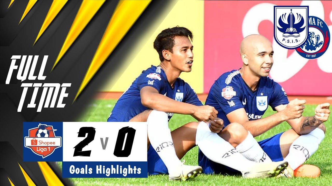 PSIS vs Arema FC | 2-0 | Goals Highlights | Shopee Liga 1 2020