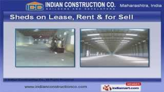 Concrete & Cement Sheds By Indian Construction Co., Mumbai