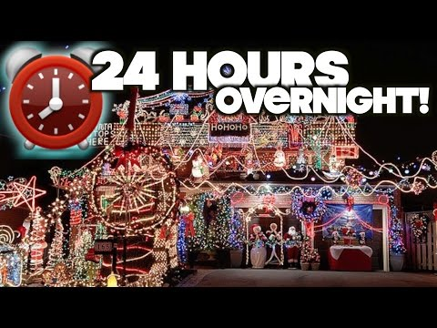 Harassed! 24 Hour Overnight Challenge At Strangers CHRISTMAS HOUSE Fort