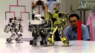 Robot Pro-Wrestling Dekinnoka!13 Saaga vs Nagare-Gold