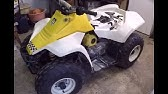 Suzuki Lt80 Quad Sport Start Up And Info - YouTube