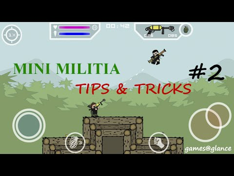 Doodle Army 2: Mini Militia Tips&Tricks with Gameplay 2016 #2_all chat commands