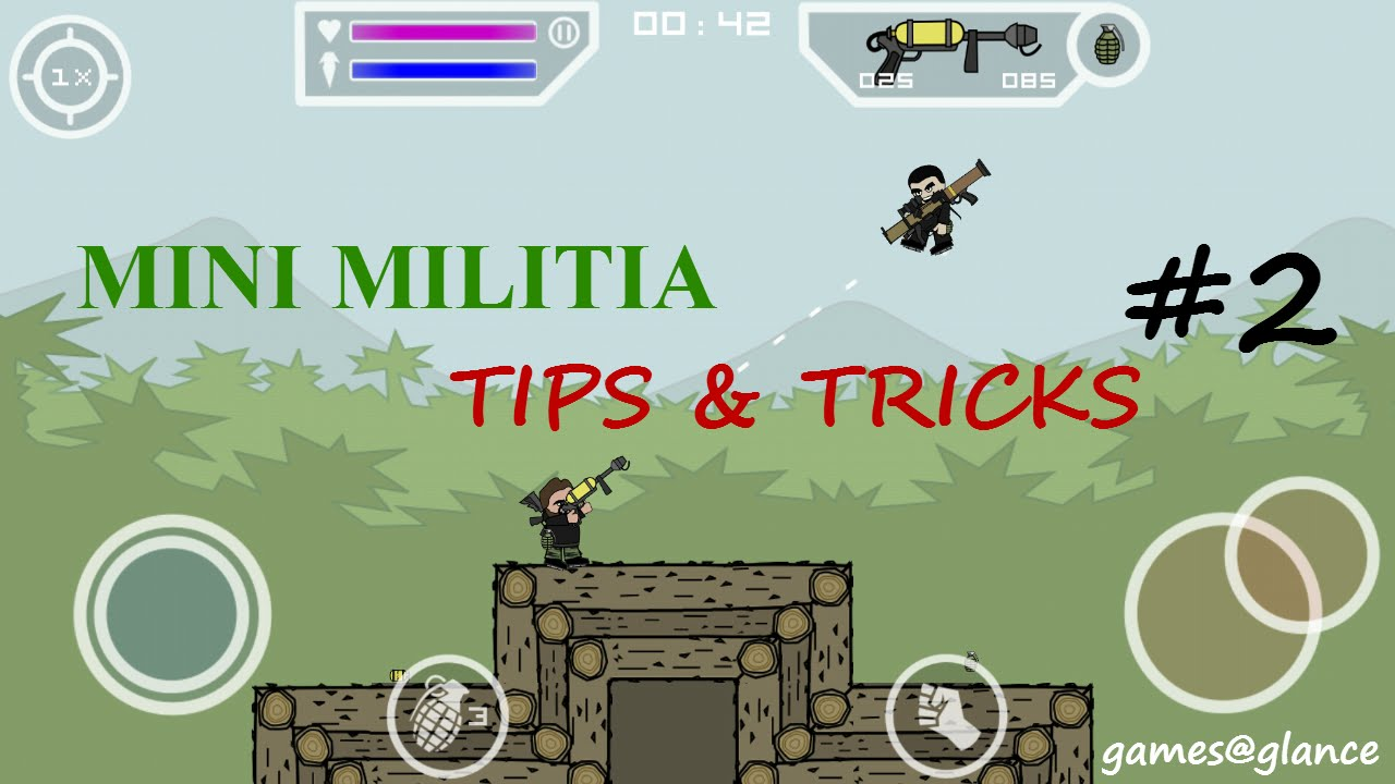 1df1a4eb61f Doodle Army 2: Mini Militia Tips&Tricks with Gameplay 2016 #2_all chat  commands - YouTube