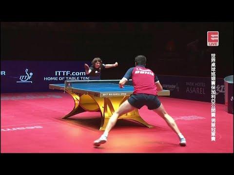 2017 Bulgarian Open (Ms-Final) OVTCHAROV Dimitrij Vs MATSUDAIRA Kenta [Full (+Awards)/Chn|HD1080p]