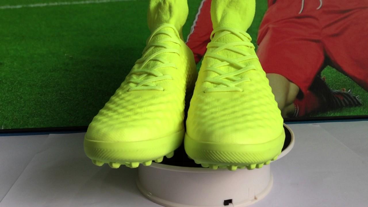 1c75187b5 2017 colorway design Nike MagistaX Proximo II TF - Volt Green Volt ...