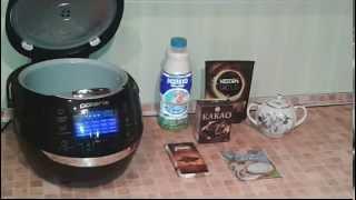 Домашние видео рецепты: вкусный горячий шоколад в мультиварке