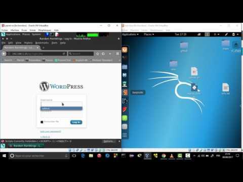 wordpot Honeypot  - mhn (Demo)