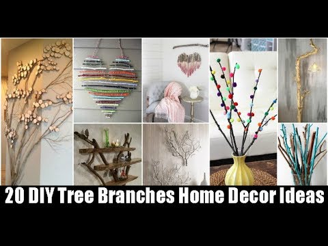 20 DIY Tree Branches Home Decor Ideas