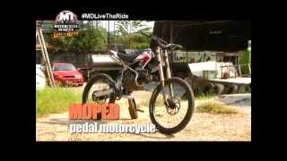 No need to gas up when riding this motorcycle with a built-in bike pedal | MOTORCYCLE DIARIES