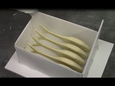 How to Make Your Own Multi-cavity Production Lure Molds by MakeLure