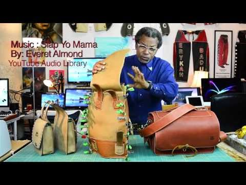 How To Make A Leather Camera / Utility Bag