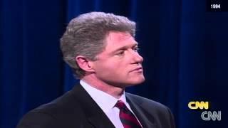1994 - Amanpour questions Bill Clinton
