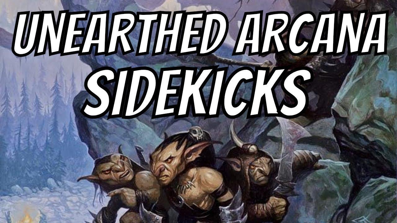 Running D&D- Unearthed Arcana Sidekicks: Quests & Adventures