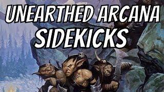 Running D&D- Unearthed Arcana Sidekicks: Quests & Adventures #102