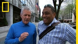 Alex Trebek Takes to the Streets | National Geographic Bee 2012