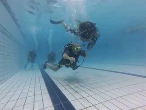 2017 10 04 Zwembad avond Duikvereniging Leeuwarden