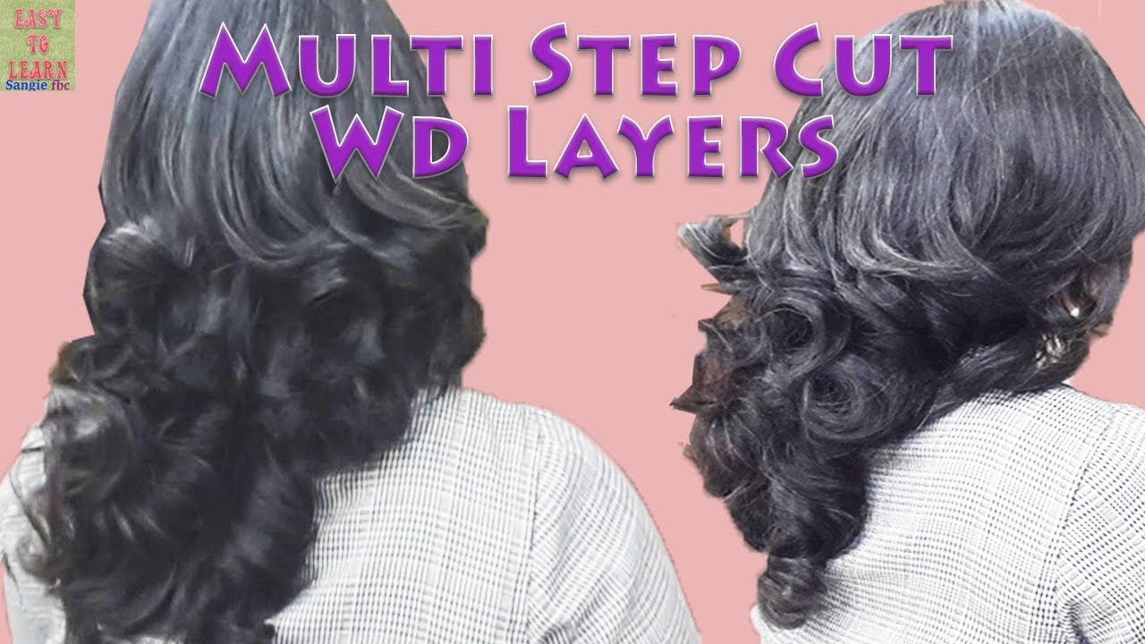 feather/layers/steps hair cut-complete hair cut back and front(advance)