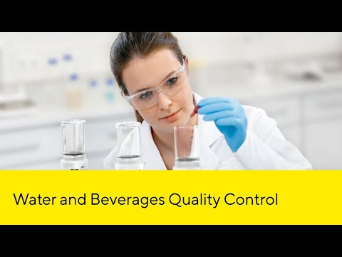 Monitoring the quality of water and beverages